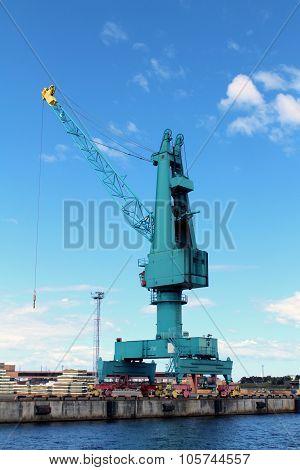 Cargo Container Crane