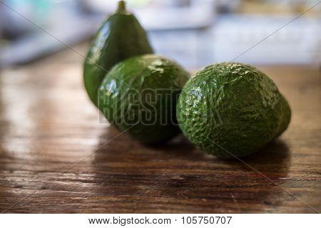 Tasty Avocado, Raw Tropical Food.