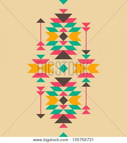 Native american style ornament