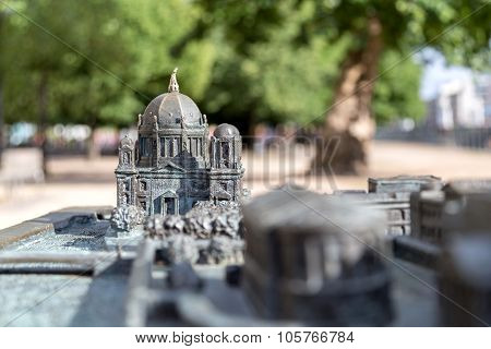 Bronze Model Of Berlin Cathedral