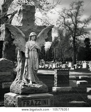 Frazzini Angel Over Grave