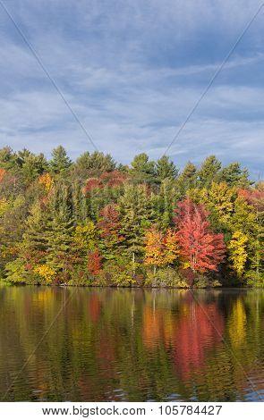 Burr Pond State Park Torrington Connecticut