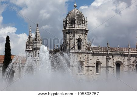 Europe Portugal Lisbon Belem Jeronimos Monastery