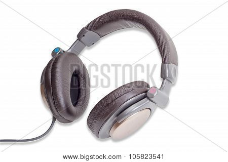 Full Size Headphones On A Light Background