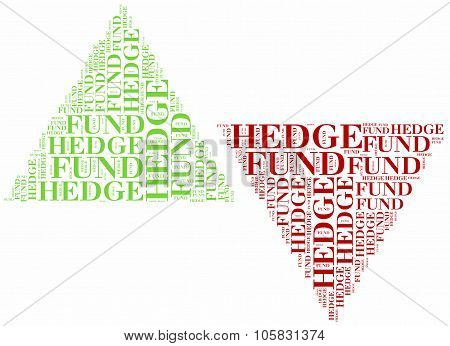 Hedge Funds. Financial Concept.