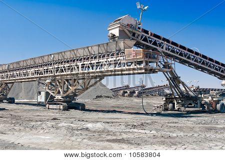 a large conveyor