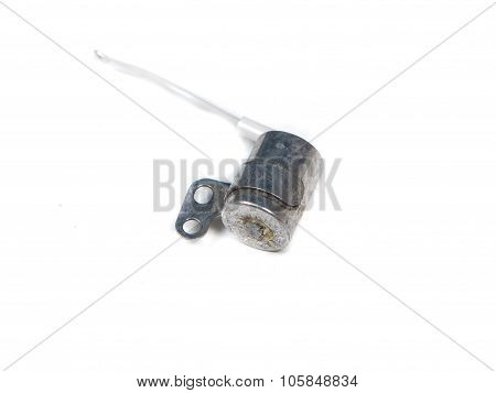 the automotive sensor isolated on white background poster