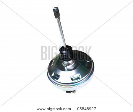 the car vacuum booster isolated on white background