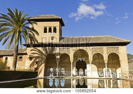 Partal, Alhambra, Granada.