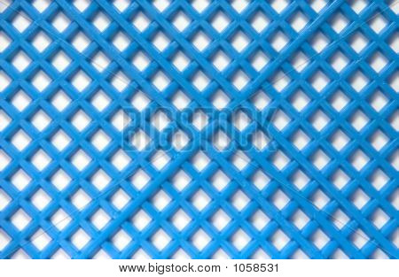 white-blue composition from the cells of net generatrix texture poster