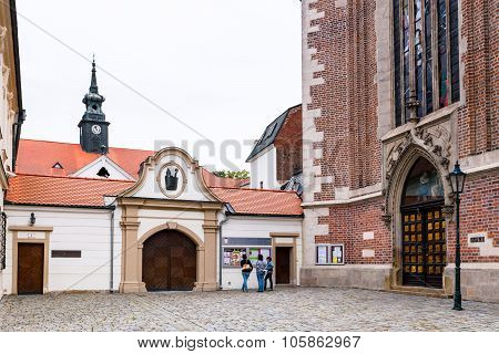Gate To The Augustinian Abbey Of St Thomas, Brno