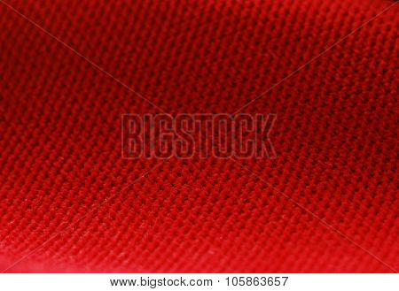 Red Chenille fabric background