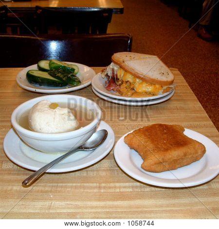 Traditional Jewish Deli Food
