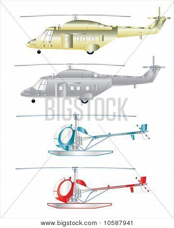 Helicopter A