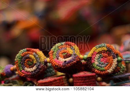 Colored Pompoms