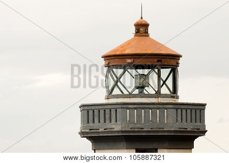 Historic Structure Outdoor Railing Lighthouse Tower Nautical Beacon