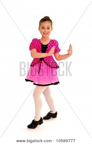 Smiling Tap Dancer