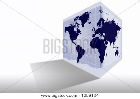 World Map Box _ Overwhite