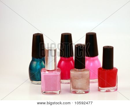 Fingernail Polish Bottles
