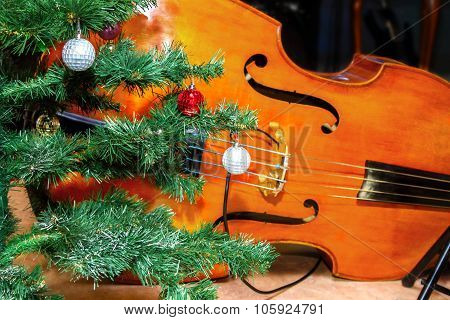 Bass Lies Under The Tree Christmas Decorations
