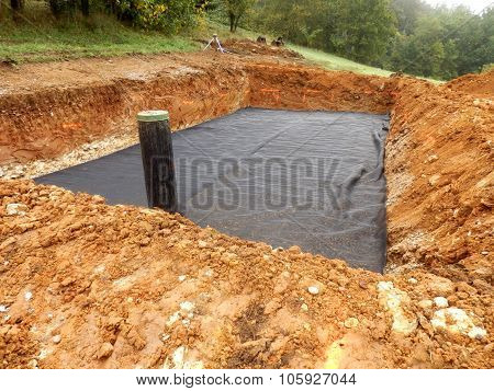 Sand and Gravel Filter Bed