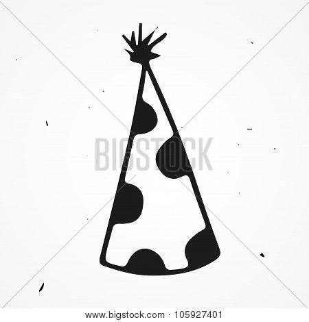 Hand drawn wizard hat