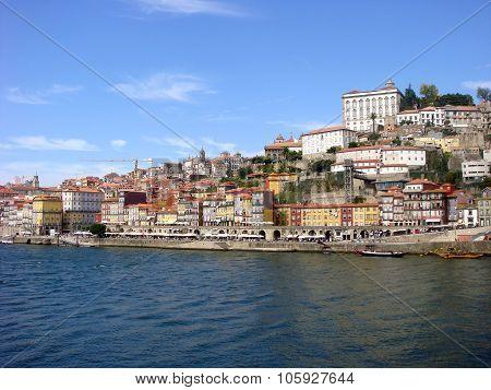 Portugal. Porto City, And River Doro.