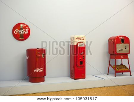 Vending Machines For Coca Cola