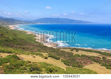 Coastline of Kenting National Park South Taiwan poster