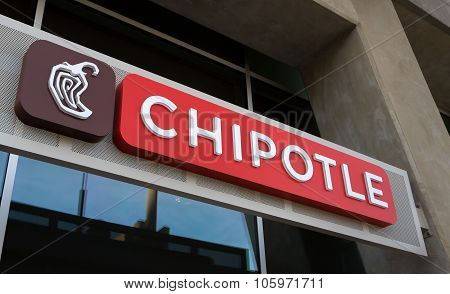 Chipolte Mexican Grill Sign