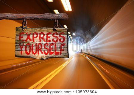 Express Yourself Sign