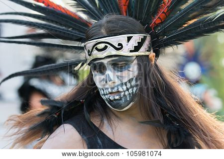 Conchera Dancer On Display