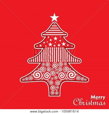Illustration of Christmas Celebration background stock vector