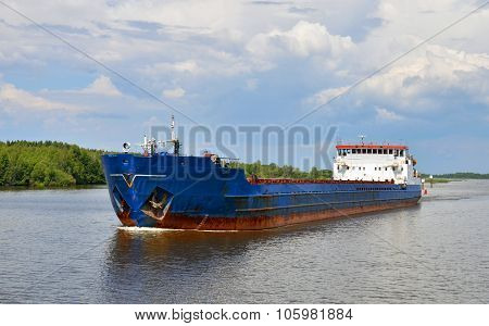 The Barge On A River