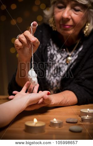 Fortune Teller Using Magic Pendulum