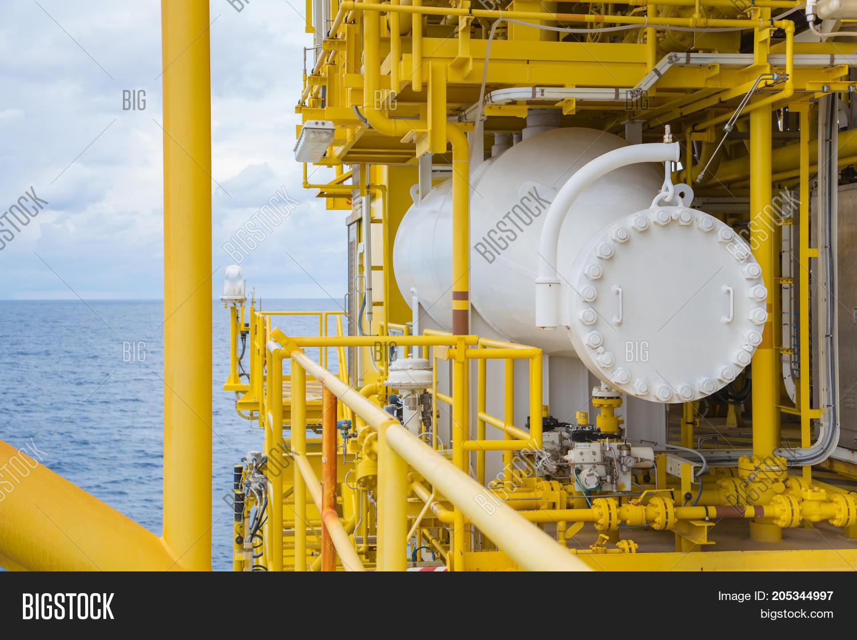 Test Separator Oil Gas Image & Photo (Free Trial)   Bigstock