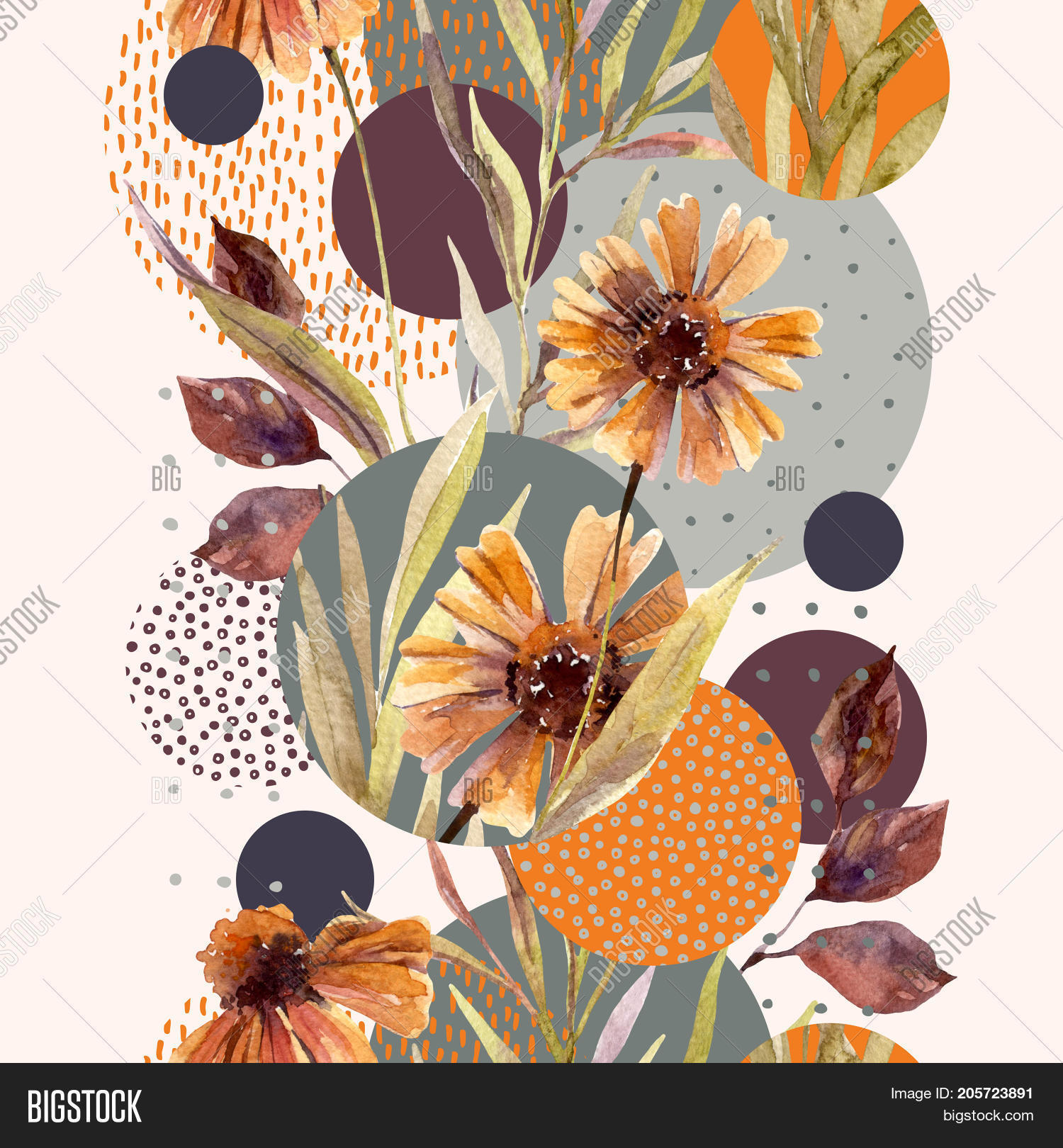 Abstract Floral Image Photo Free Trial Bigstock