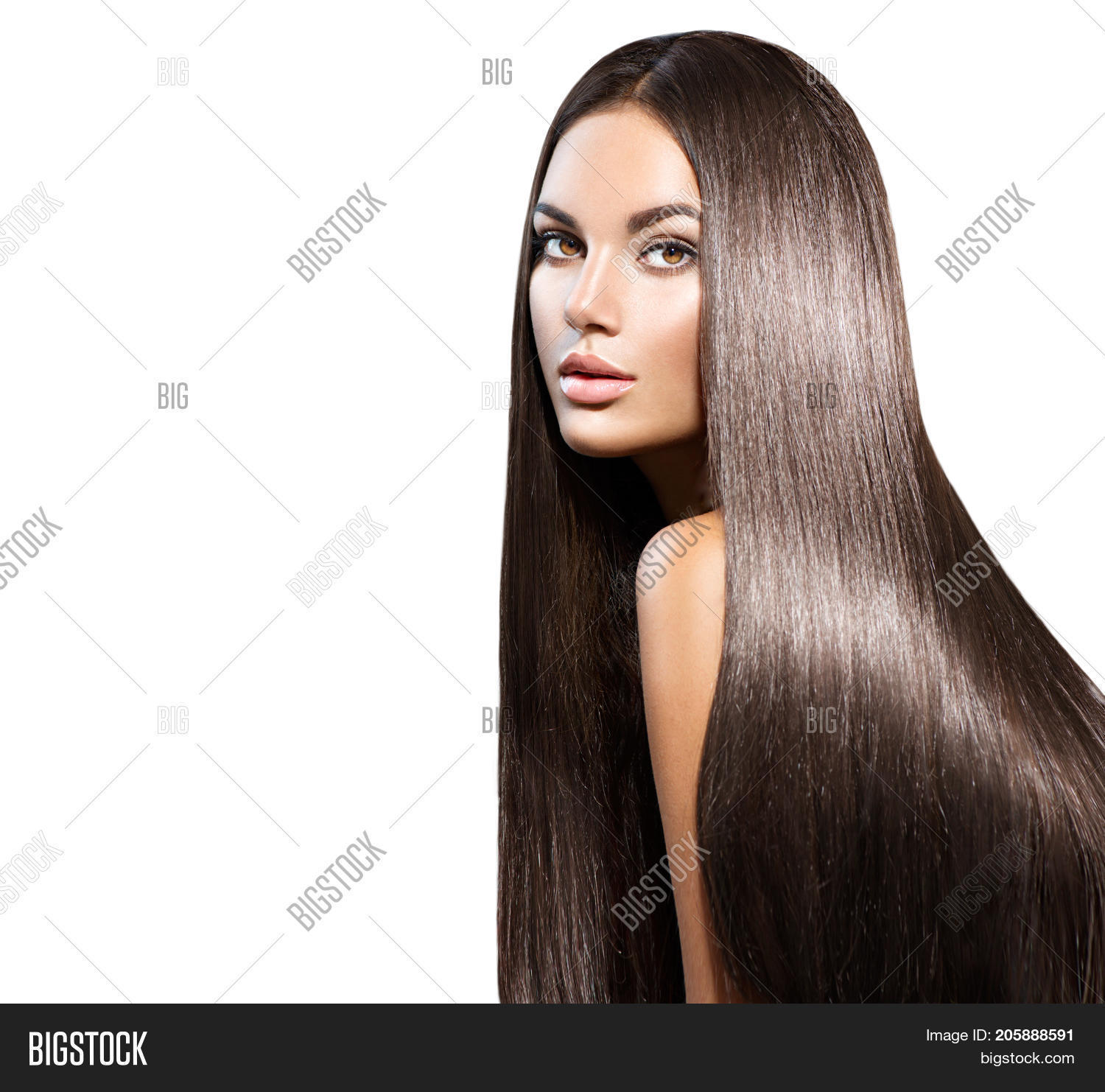 Beautiful long Hair Beauty woman with luxurious
