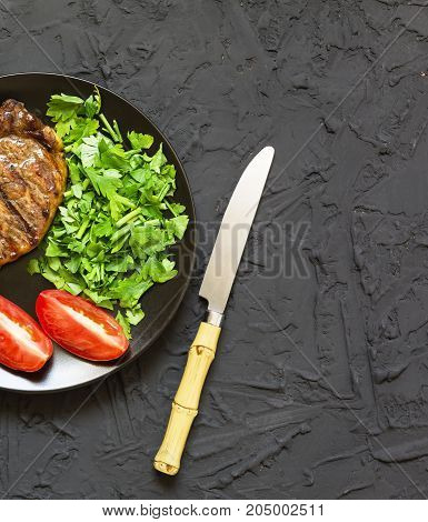 Appetizing Barbecue Steak Bbq