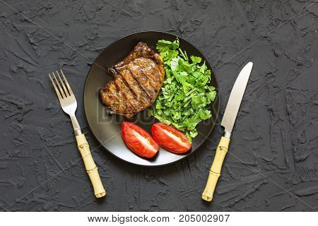Appetizing Barbecue Steak