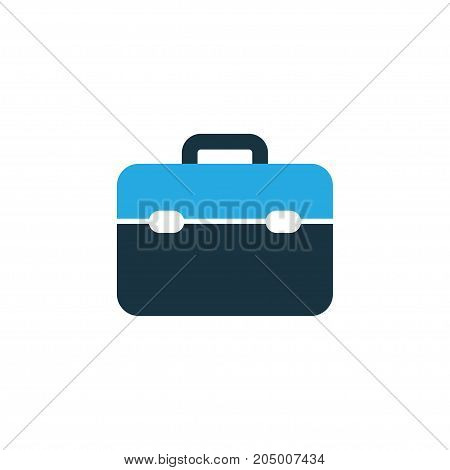 Premium Quality Isolated Toolkit Element In Trendy Style.  Toolbox Colorful Icon Symbol.
