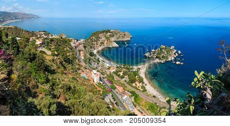 Taormina View From Up, Sicily.