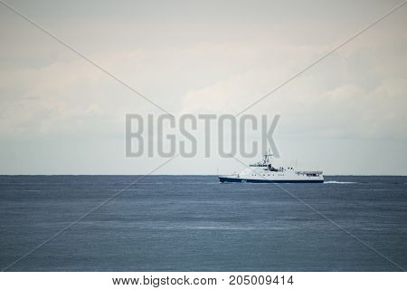 Coast Guard Patrols In The Black Sea