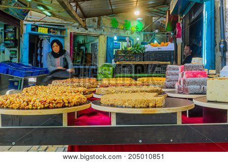 Sweets On Sale In The Market, In Acre (akko