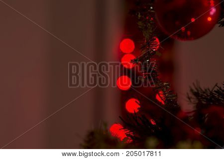 Festive Colorful Christmas Background