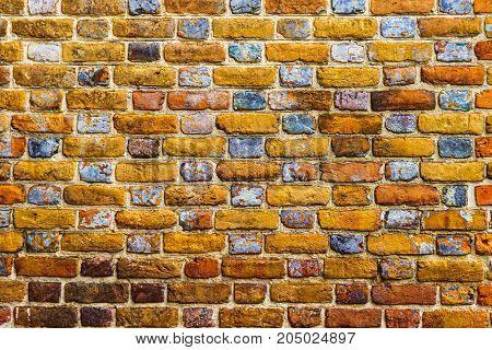 Old brick colored brick masonry background textures