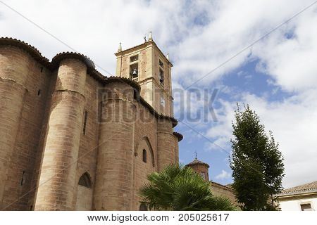 Santa Maria La Real Monastery In Najera, La Rioja, Spain.