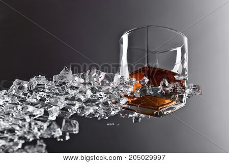 Whiskey With Ice .