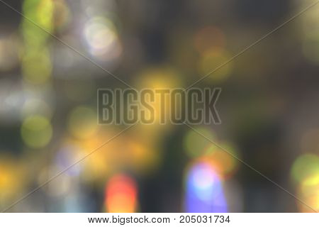 blurry abstract background texture with bokeh effect