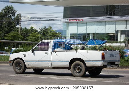 Private Isuzu Kb Old Pickup Car.